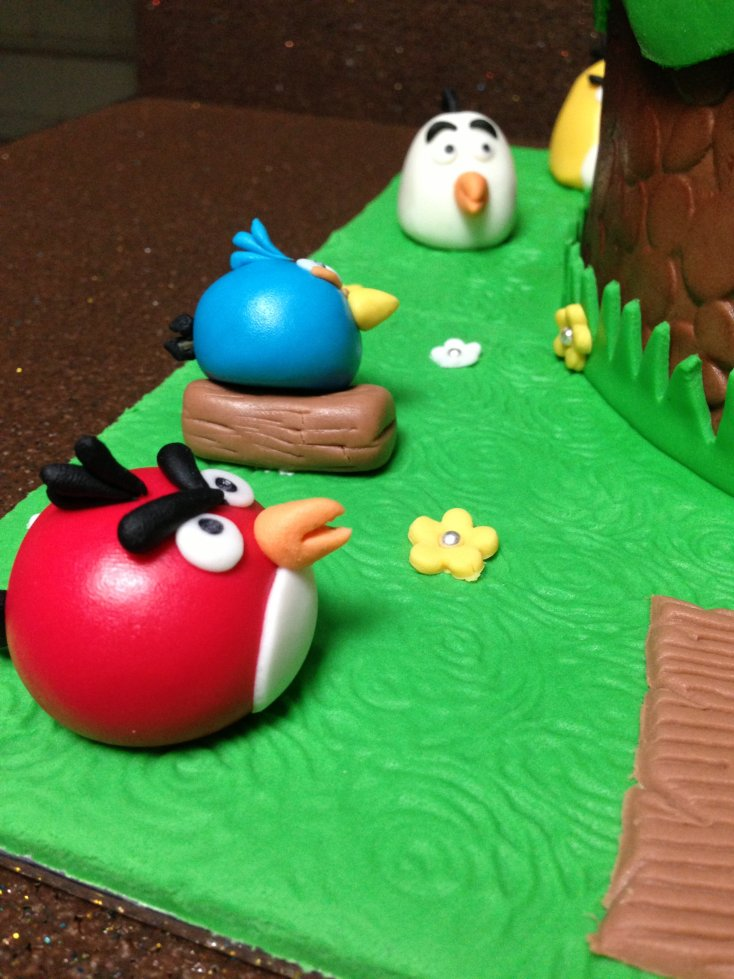 Img 1543 for Angry birds cake decoration
